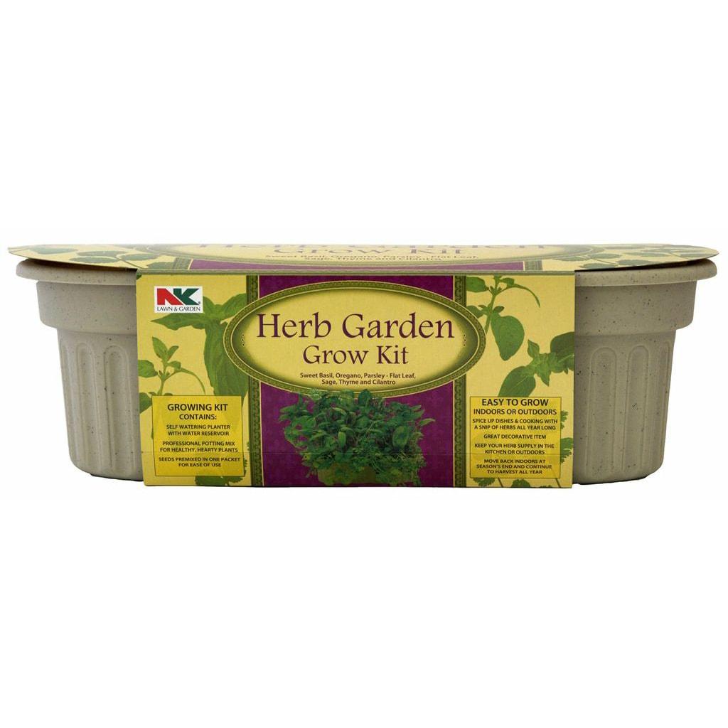 Jiffy KHB6 Herb Garden Grow Kit (Plant Starters), Green o...