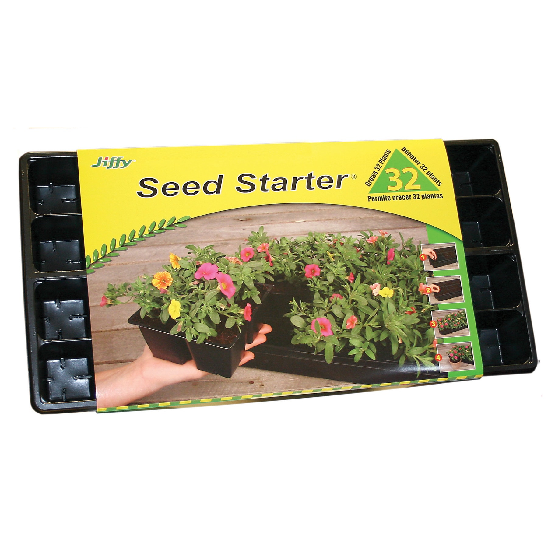 Jiffy T32 Jiffy 32 Cell Planting Tray (Plant Starters) (P...
