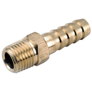 Amc 757001-1208 3/4-inch X 1/2-inch Low Lead Brass Male Hose Barb