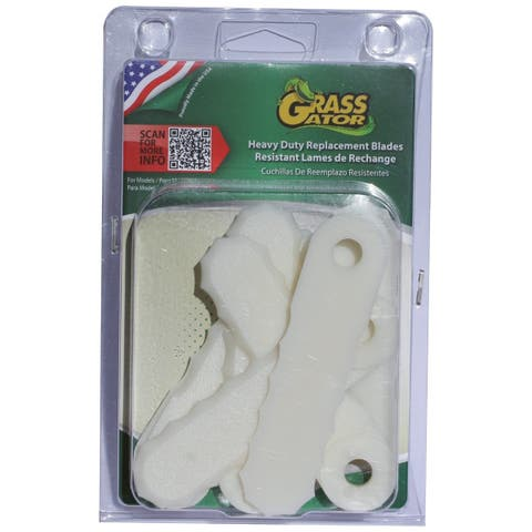 Grass Gator 4610-6 3 Sets Grass Gator Weed II Replacement Blades
