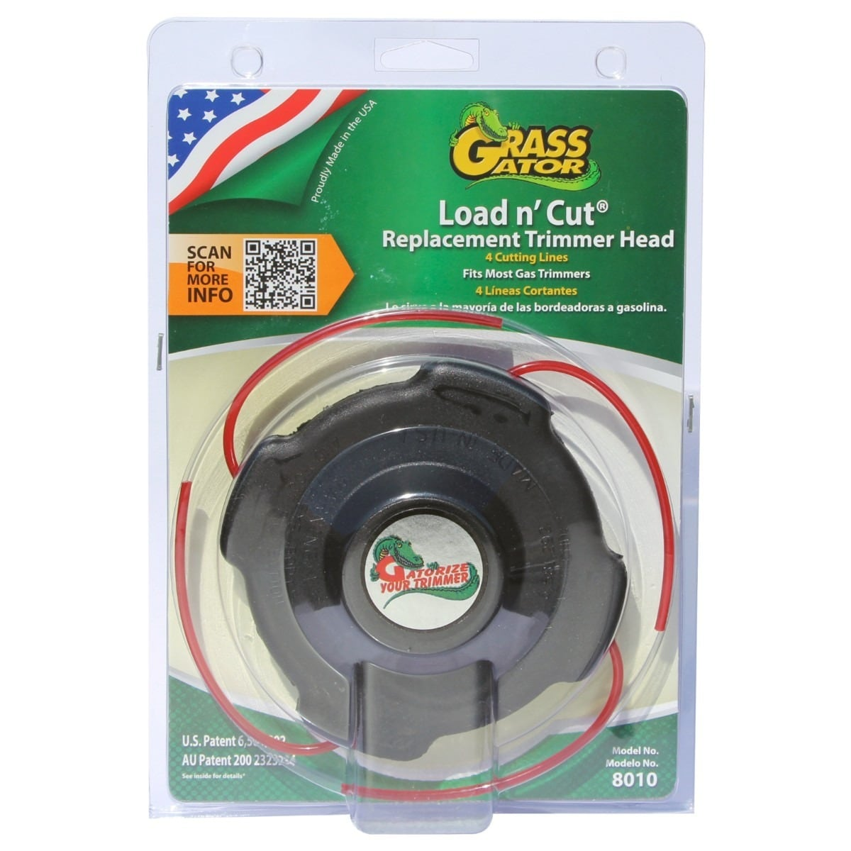 Grass Gator 8010 Load N-foot Cut Trim Line Replacement He...