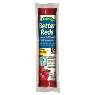 Gardeneer BR-12 3-foot X 24-foot Red Mulch Film