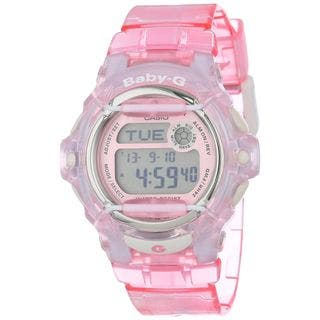 Casio Women's BG169R-4 'Baby-G' Digital Pink Resin Watch https://ak1.ostkcdn.com/images/products/12406434/P19226023.jpg?impolicy=medium
