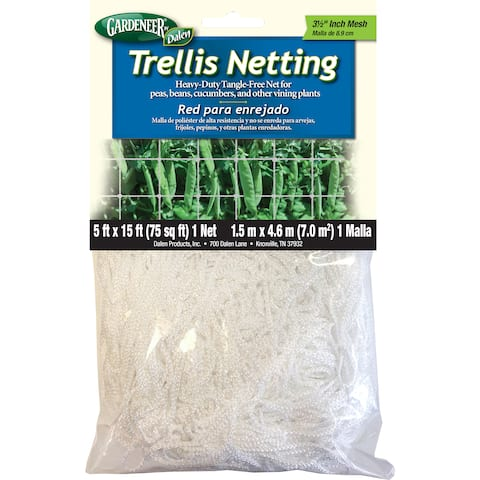 Gardeneer TPSM-15 5-foot X 15-foot Heavy-Duty Tangle-Free Trellis Netting