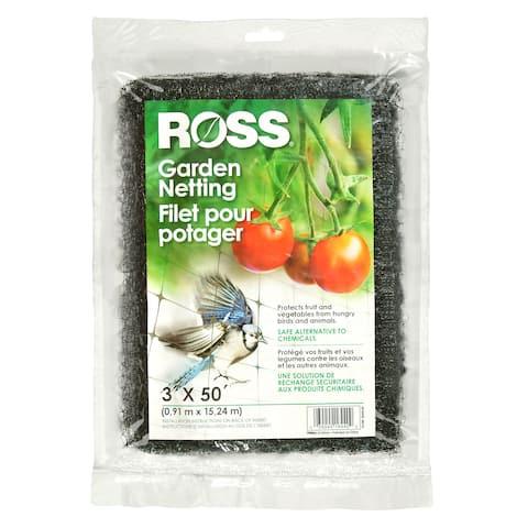 Ross 16440 3-foot X 50-foot Garden Netting