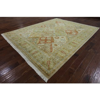 Hand-Knotted Oriental Peshawar Multi Wool Rug (8' 2 X 10' 3)