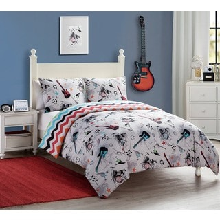 VCNY Rock Star 3-piece Comforter Set