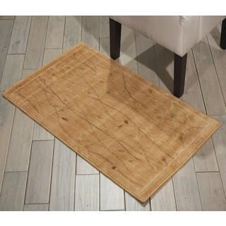 Nourison Mondrian Gold Area Rug (2'3 x 3'9)