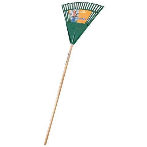 True Temper KLRO Real Tools For Kids Poly Leaf Rake