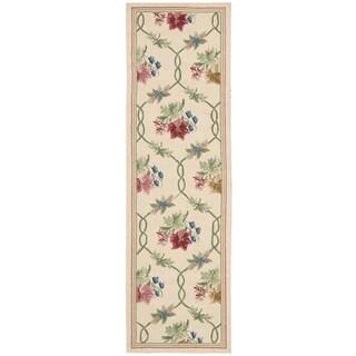 Nourison Lattice Cream Area Rug (2'3 x 8')