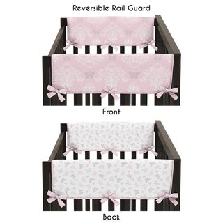 Sweet Jojo Designs Side Crib Rail Guard Covers for Alexa Collection (Set of 2)