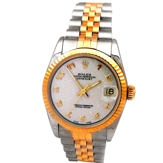 Rolex Pre-owned Gold/Stainless Steel 31-millimeter Datejust Watch