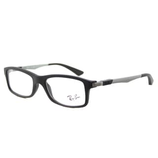 Ray-Ban Junior RY 1546 3633 Matte Black Plastic 48-millimeter Rectangular Eyeglasses