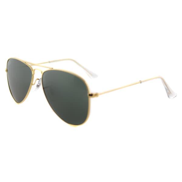 Ray-Ban Aviator Childrens Gold Metal 50mm Aviator Sunglasses