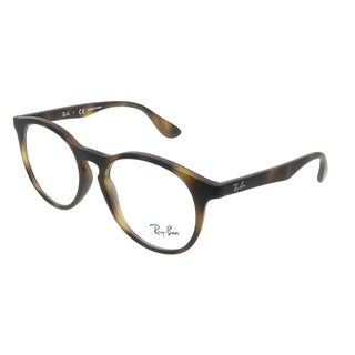Ray-Ban RY 1554 3616 Children's Black Rubber and Plastic 48-millimeter Round Eyeglasses