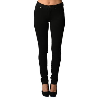 Dinamit Women's Black Ultra Stretchy Cotton/Spandex Jeggings|https://ak1.ostkcdn.com/images/products/12407433/P19226883.jpg?_ostk_perf_=percv&impolicy=medium