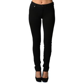 Dinamit Women's Black Ultra Stretchy Cotton/Spandex Jeggings|https://ak1.ostkcdn.com/images/products/12407433/P19226883.jpg?impolicy=medium