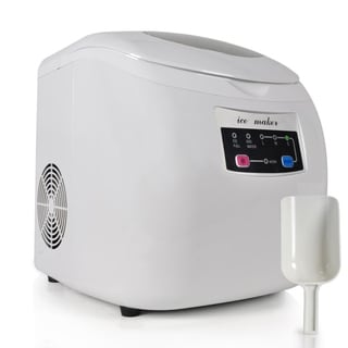 NutriChef Electronic Ice Maker & Countertop Ice Cube Making Machine