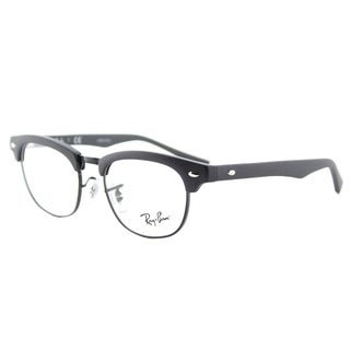 Ray-Ban Junior RY 1548 3649 Clubmaster Matte Black Plastic 45-millimeter Eyeglasses