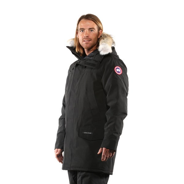 8832f081c3ea Canada Goose Mens Langford Parka - Free Shipping Today - Overstock.com -  19227082 ...