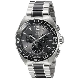 Tag Heuer Men's CAZ1011.BA0843 'Formula One' Chronograph Two-Tone Stainless steel and Ceramic Watch