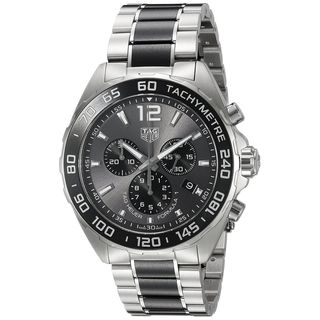 Tag Heuer Men's 'Formula One' Chronograph Two-Tone Stainless steel and Ceramic Watch