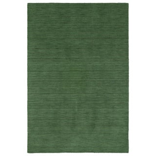Gabbeh Emerald Hand Made Rug (8'0 x 11'0)