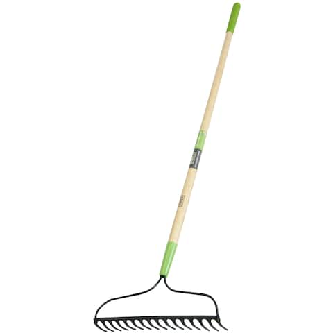 Ames 2825300 2.75-inch X 15.75-inch X 63-inch Welded Bow Rake With 16 Tines