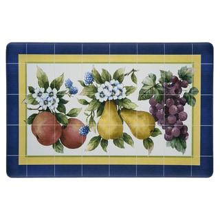 Achim Fruity Tiles Anti-fatigue Decorative Kitchen Floor Mat - Multi - 1'6 x 2'6