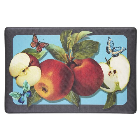 Achim Golden Delicious Anti-fatigue Decorative Kitchen Floor Mat