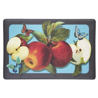 Anti-Fatigue Golden Delicious Apples PVC Foam Mat (2' x 3')