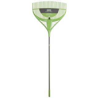 Ames 2915806 26-inch Poly Leaf Rake With Steel Handle