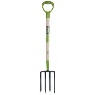 Ames 2916400 2.5-inch X 6.63-inch X 45.5-inch Forged Spading Fork With 4 Tines