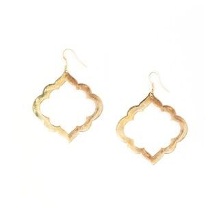 Handmade Ashram Window Earrings (India)