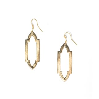 Ashram Window Earrings - Slim (India)