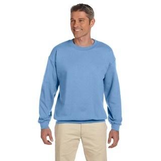 Ultimate Cotton 90/10 Fleece Men's Crew-Neck Carolina Blue Sweater