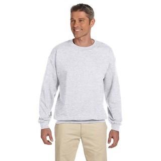 Ultimate Cotton 90/10 Fleece Men's Crew-Neck Ash Sweater