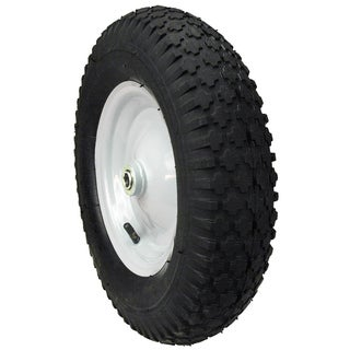 Maxpower 335232 Hub Knobby Tread Wheelbarrow Wheel