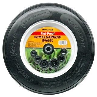 Maxpower 335270 8-inch Flat Proof Wheelbarrow Wheel