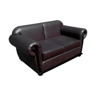 D-Art Carter Dark Brown Loveseat (Indonesia)