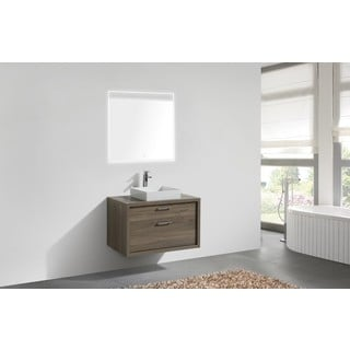 KubeBath Modern Tucci Wood 36-Inch Single Bathroom Vanity