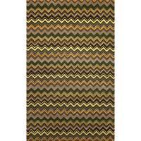 Winding Stripe Indoor Rug (9' x 12') - 9' x 12'