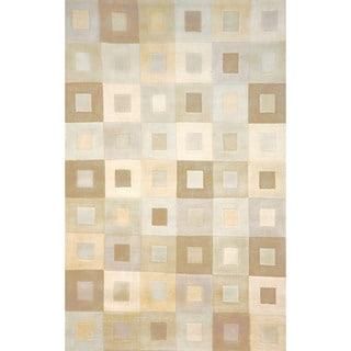 Square In Square Indoor Rug (9' x 12')