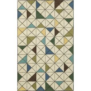 Geometric Indoor Rug (9' x 12')