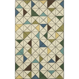 Geometric Indoor Rug (9' x 12')