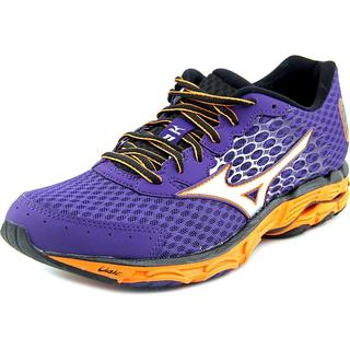 Mizuno Men's Wave Inspire 11 Purple Mesh Athletic Shoes