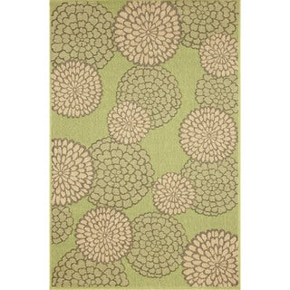 Multi Floral Outdoor Rug (3'3 x 4'11)