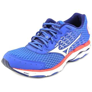 Mizuno Men's Wave Inspire 11 Blue Mesh Athletic Shoes