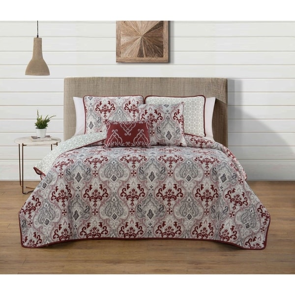 Avondale Manor Marlow 5 Piece Quilt Set On Sale Free