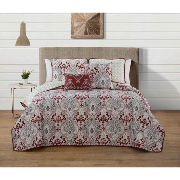 Avondale Manor Marlow 5 Piece Quilt Set Free Shipping